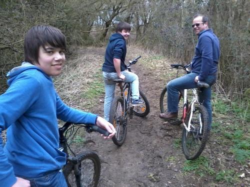 Gentlemen bikers going back to basics!