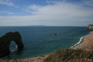 Recent view over Durdle Door