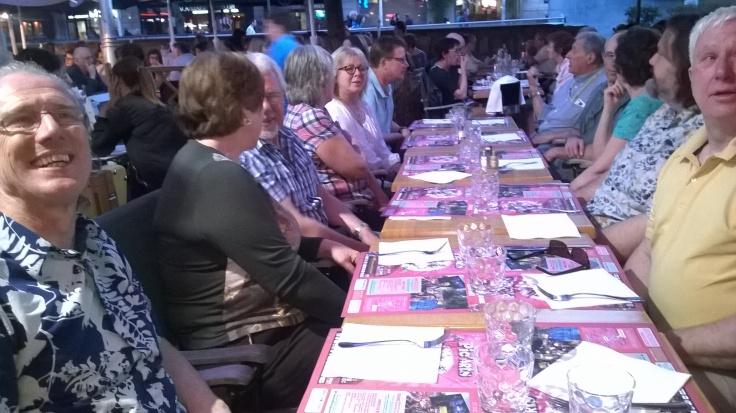 Dinner in Reims!
