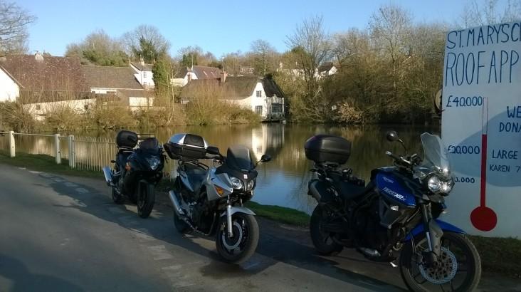 Bikes at Bishoptsone