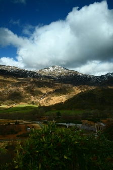 View looking towards Snowdon