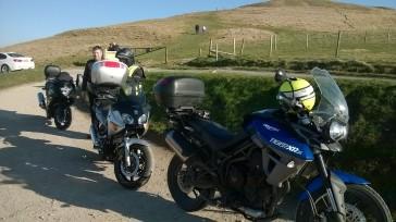 Uffington and bikes