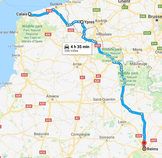 France & Belgium Day 1