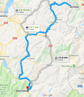Ride to the Alps Day 5 Day out